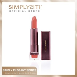 Simply Elegant Lipstick Semi-Matte Soft Orange (Percayalah) LC19