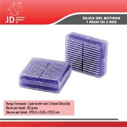 Silica Gel Biru Desiccant (Blue) - 1 Paket 2 Kotak