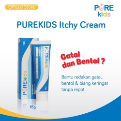 Pure Kids Itchy Cream 15gr