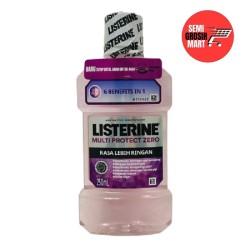 Listerine Antiseptic Mouthwash Multi Protect Zero 250ml