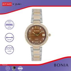 Bonia Rosso - BR112-2645S - Jam Tangan Wanita - Silver Rosegold