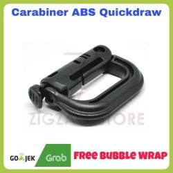 Carabiner Quickdraw ABS Buckle Karabiner