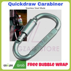 Carabiner Quickdraw Stainless Steel Karabiner