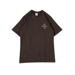 UNKL347 Kaos Heavy Cotton Mch Dark Brown