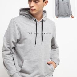 d&f Sweater pria Unity- Abu abu