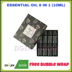 Essential Oil - Aromatheraphy Oil 8 in 1 10ml