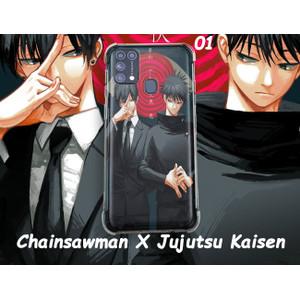 Castom Case Anime Case Handphone Chainsawman X Jujutsu Kaisen