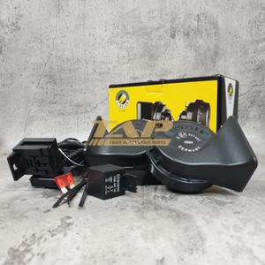 KLAKSON KEONG BMW FLOSSER (FER) 12V + CABLE RELAY SET BOSCH