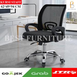 Best Kursi Staff Kursi Kantor Kursi Multifungsi uk59x63x93cm