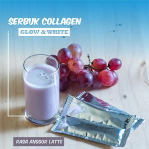 Minuman Serbuk Collagen (200 Gram ) Rasa Anggur Latte