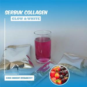 Collagen Powder Drink (200 Gram ) Rasa Strawberry Anggur