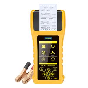Battery Tester Analyzer Thermal Printer AUTOOL BT760 6-30V Accu BT-760