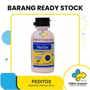 Obat Kutu PEDITOX 50ml - Pengobatan Kutu Rambut