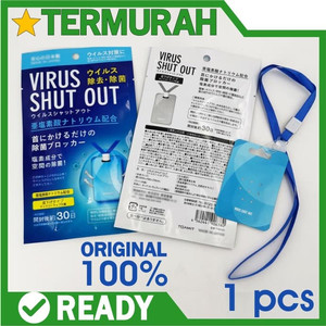 Virus Shut out Made in japan ORIGINAL KALUNG ANTI VIRUS toamit jepang