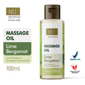 Nu Aroma Massage Oil / Minyak Pijat Lime Bergamot