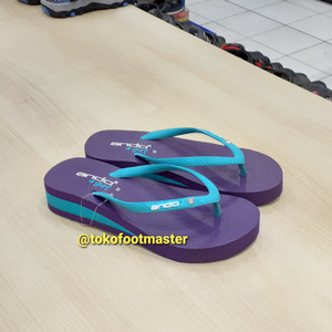 Sandal Jepit Ando Anak Nice Queen T Ungu [PROMO]