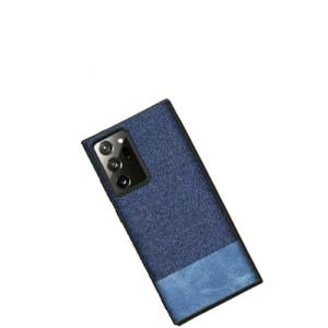 Samsung Note 20 Ultra Soft Case Fabric Denim Cover - Note 20 Ultra