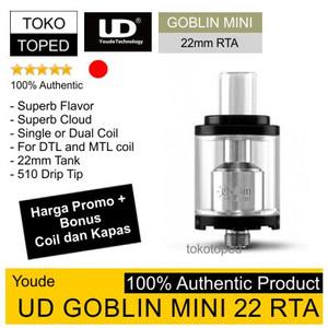 Authentic UD GOBLIN MINI 22 RTA | 22mm | dual single coil