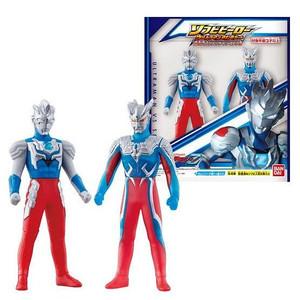 sofubi hero Ultraman Z - alpha edge & Zero