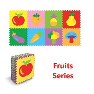 Edumat karpet matras evamat puzzle Fruits Series[8Lbr]/ matras bayi