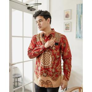 Kemeja Batik Pria   Lengan Panjang   Regular Fit   Adara