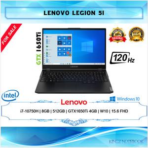 Lenovo Legion 5i Gaming i7-10750H 8GB 512GB GTX1650Ti Win10 15,6 FHD