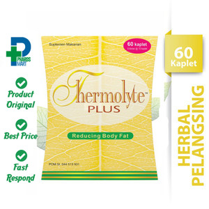 Thermolyte Plus 60 Kaplet - Suplemen Pelangsing