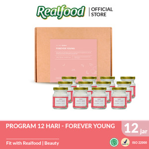 Realfood Forever Young Semi Concentrated Bird's Nest dengan Kolagen