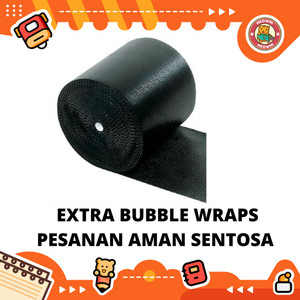 Bubble Wraps Extra Untuk Keamanan Packing Produk Houseware Perlengkapa
