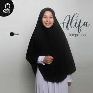 Jilbab Instan Pet Antem Jumbo / Hijab Kaos Bergo Antem Kaos Syari