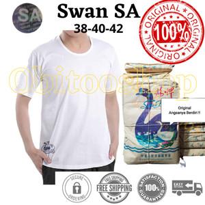 Kaos Oblong Swan ORIGINAL(6pcs) Size 38/40/42