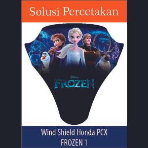 Sticker Windshield | Stiker Visor Decall PCX Frozen