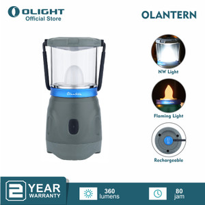 OLIGHT OLANTERN Basalt Grey Lentera Lampu Camping LED Rechargeable
