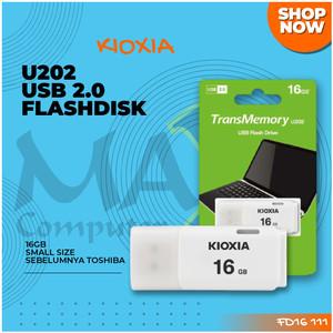 Kioxia TransMemory U202 16GB Small in Size USB Flash Drive Flashdisk