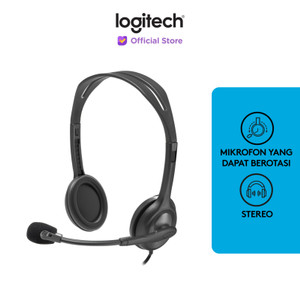 Logitech Stereo Headset - H110