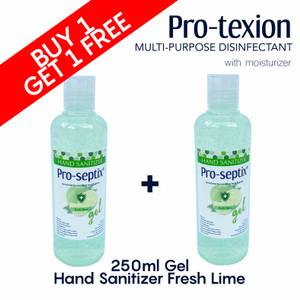 BUY 1 GET 1 Hand Sanitizer Pro-Septix 250 ml GEL fresh lime