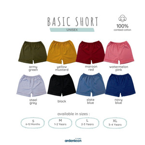 ARDENLEON Basic Short ZU.SHORT.01
