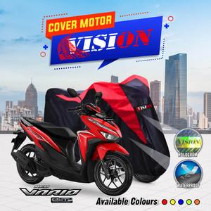 Sarung Motor VARIO / Cover Penutup Motor Warna Antiair Merk VISION