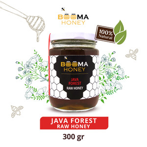 JAVA FOREST BEEMA HONEY / madu organik / madu hutan / raw honey