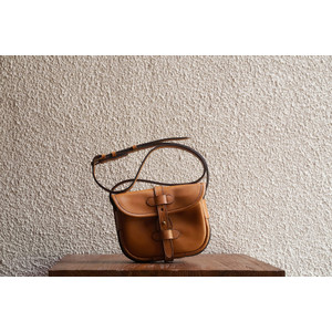 D.S. S Sand Small Leather Satchel