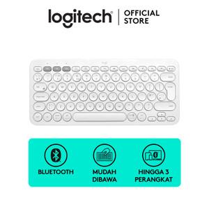 Logitech K380 Bluetooth Keyboard White For Windows, Mac, Android, iPad