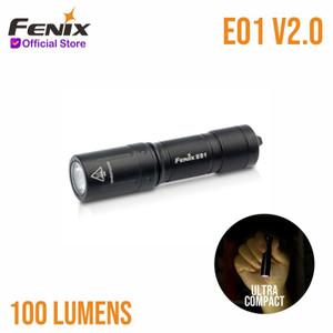 Fenix E01 V2.0 Senter LED Flashlight Black