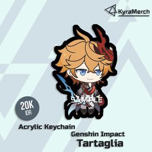Keychain Genshin Impact Tartaglia
