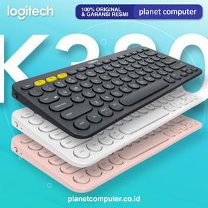 Logitech K380 Bluetooth Wireless Keyboard Multi Device Garansi Resmi