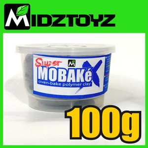 Super Mobake X - oven bake Polymer Clay 100g