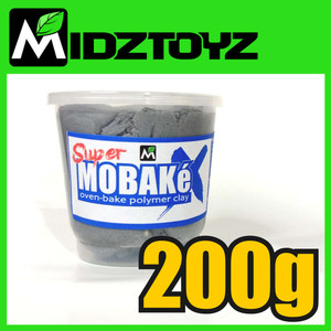 Super Mobake X - oven bake Polymer Clay 200g
