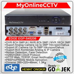 Paket DVR NVR 8 Ch CCTV Eseenet ANALOG AHD HDTVI IP CAMERA
