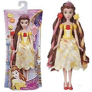 Boneka Disney Princess Hair Style Doll Rapunzel or Belle Satuan