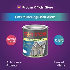 STAR STONE CAT BATU ALAM ANTI LUMUT & ANTI JAMUR 0.8 L