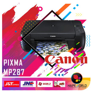 PRINTER CANON PIXMA MP287 | PRINT SCAN COPY GARANSI REMI CANON